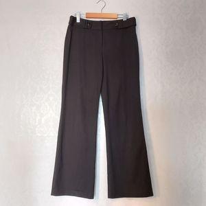 Ann Taylor Loft Curvy career dress pant black